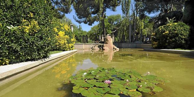 Jardines de Cecilio Rodríguez, en el parque de El Retiro. | MARGA...