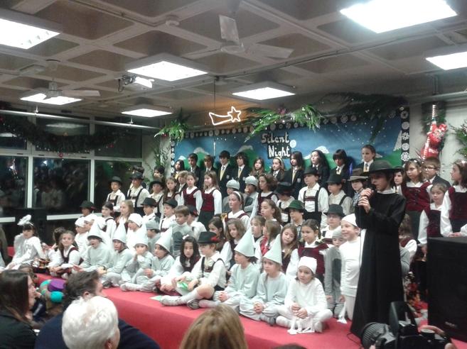 Imagen del festival navideño de British School.
