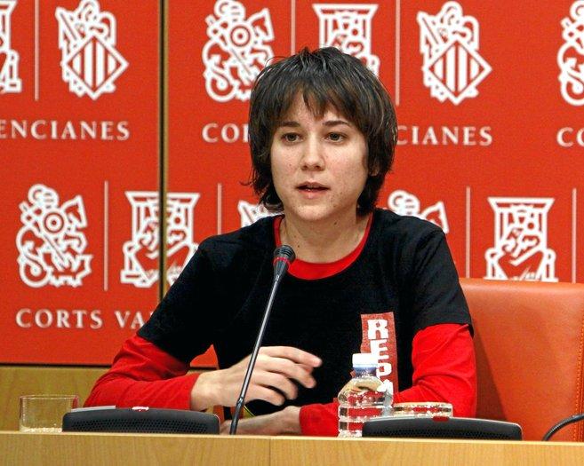 La diputada autonómica Marina Albiol en una imagen de archivo.