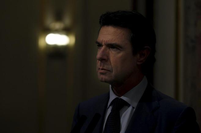 José Manuel Soria, en el Congreso de los Diputados en un momento de...