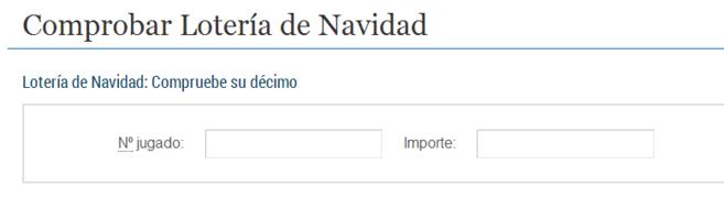 Comprobar Decimo Del Niño 2013 Como Comprobar Los Decimos Del Sorteo De Navidad Loteria De