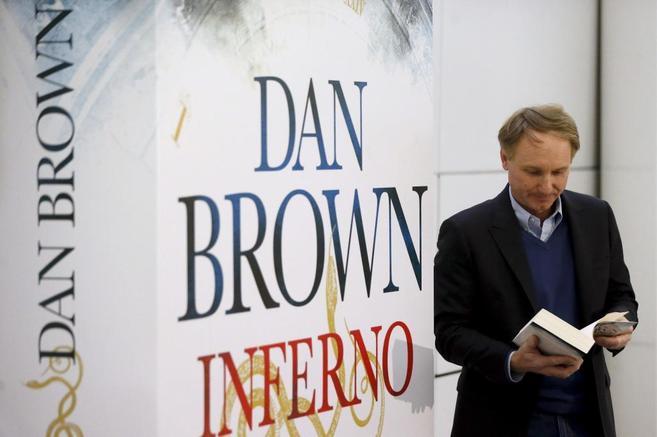 Dan Brown, en la presentación de 'Infierno' en Madrid.