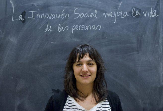 Marta Nomen es una de las impulsoras de Upsocial