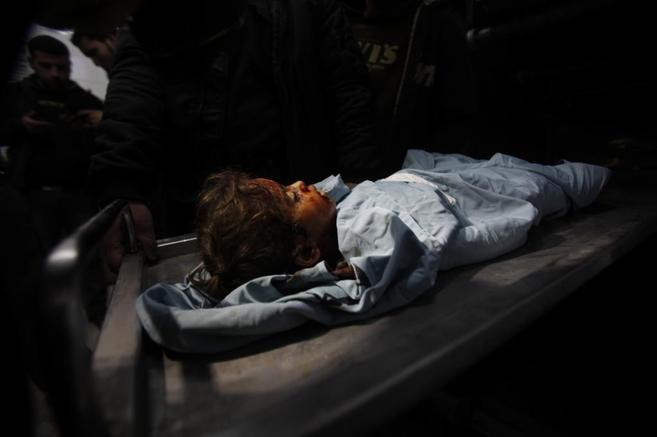 La pequeña palestina fallecida durante el ataque israelí a la Franja...
