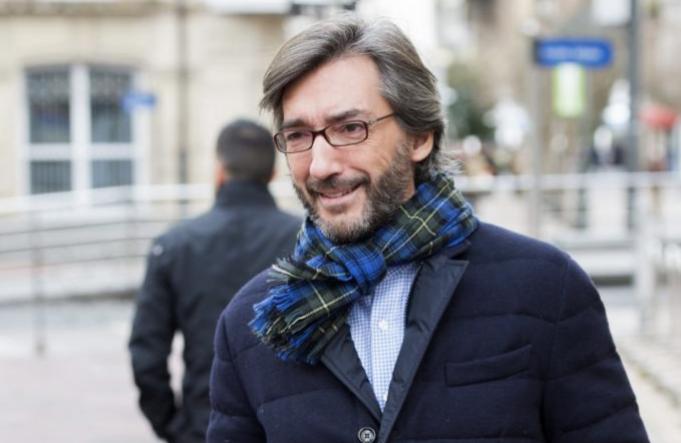 El secretario general del Partido Popular en el País Vasco, Iñaki...