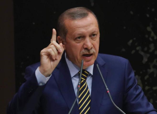Erdogan durante su intervención el día de Navidad.