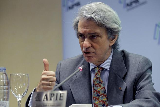 El presidente de la Asociación Española de la Industria Eléctrica...