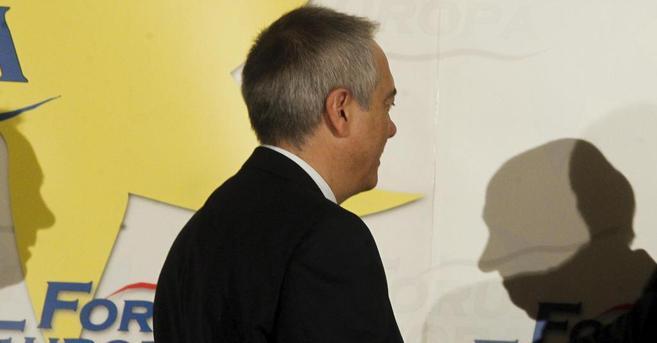 El dirigente socialista catalán, Pere Navarro, en un reciente...
