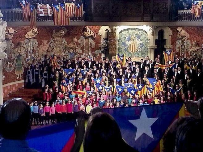 El Orfeón Catalán y los Coros de su Escuelaen el concierto de San...