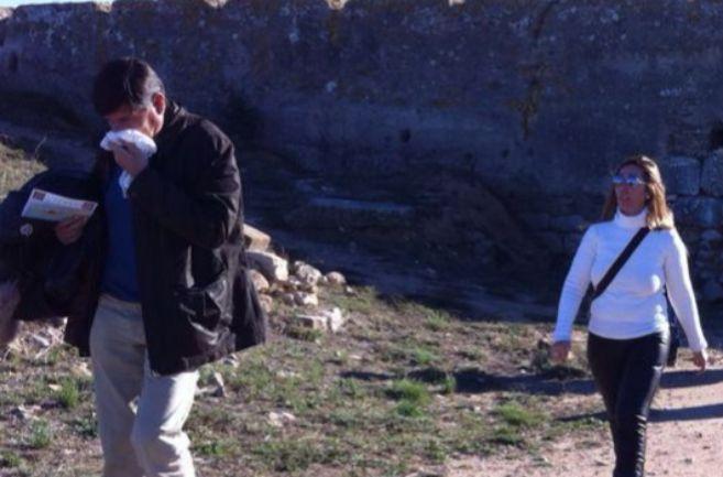 Imagen exclusiva de Pimentel con Sánchez-Camacho en Ampurias este...