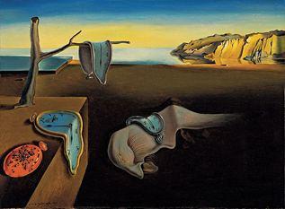 'La persistencia de la memoria', de Salvador Dalí.