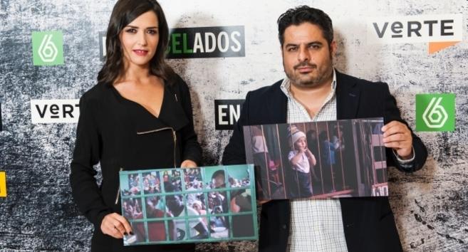 Alejandra Andrade y Jalis de la Serna, los dos reporteros de...