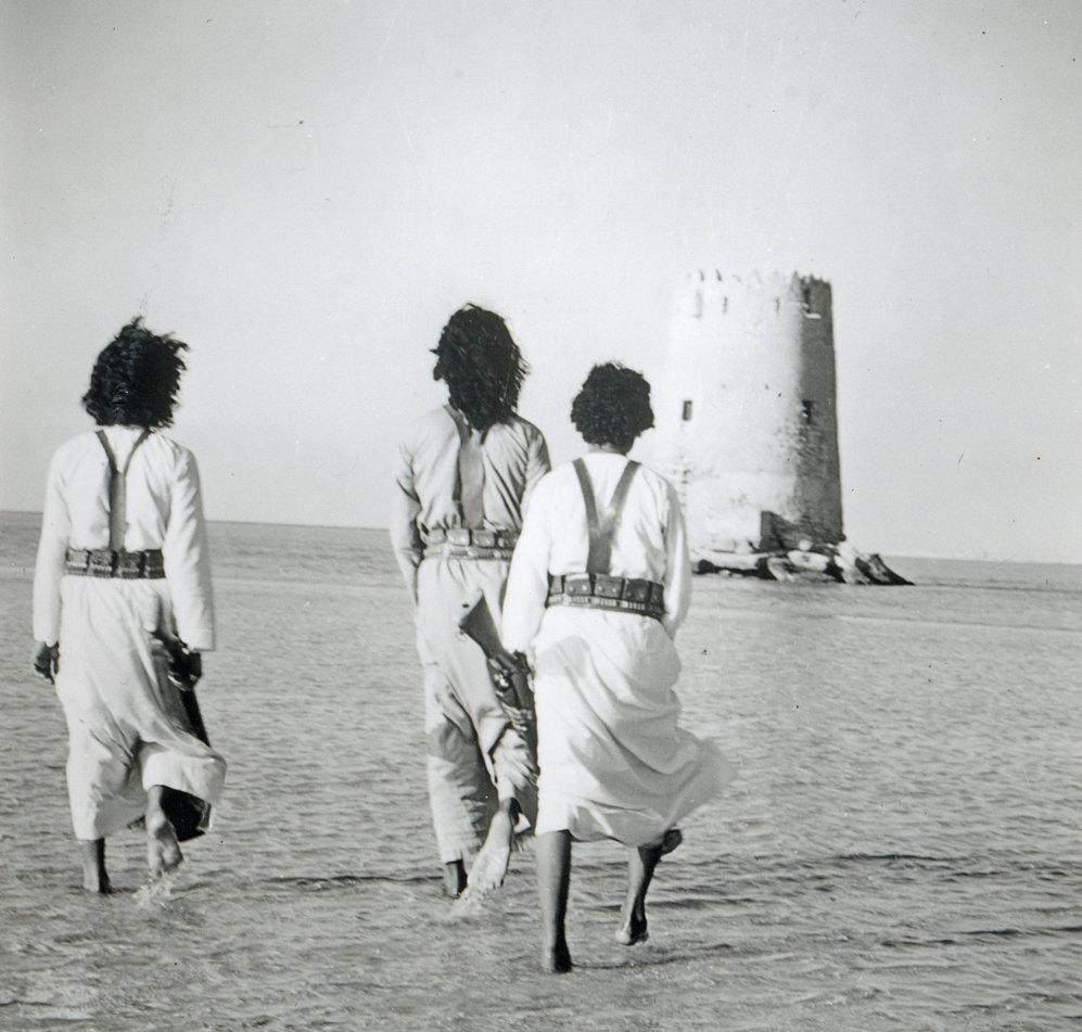 Abu Dhabi, en los 70.