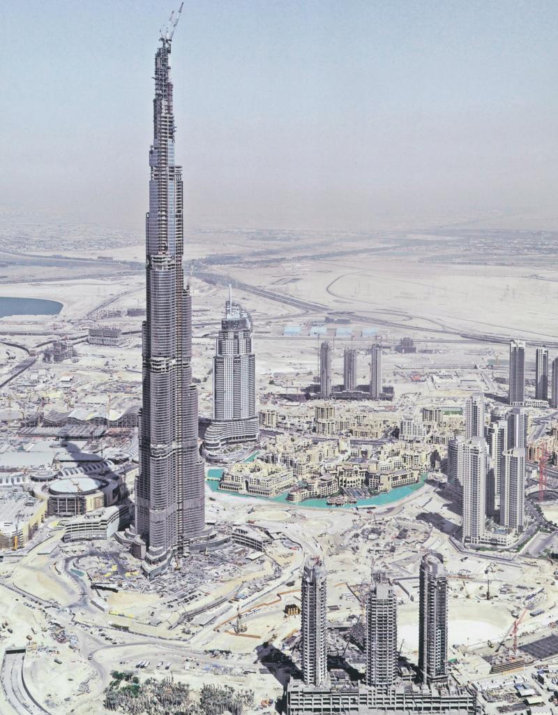 La Torre Burj Khalifa, en Dubai