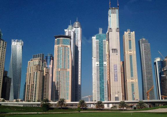 Edificio en Dubai.