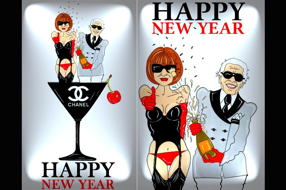 ¡Feliz año nuevo 'fashion'!
