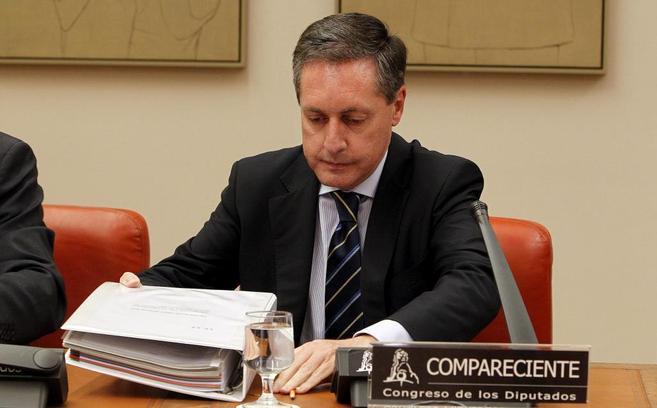 Santiago Menéndez, director de la Agencia Tributaria, en el Congreso...
