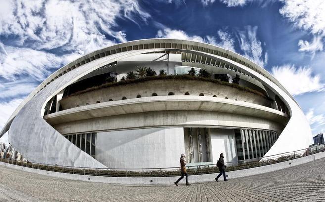 El Palau de les Arts, obra de Santiago Calatrava, ha sido clausurado...