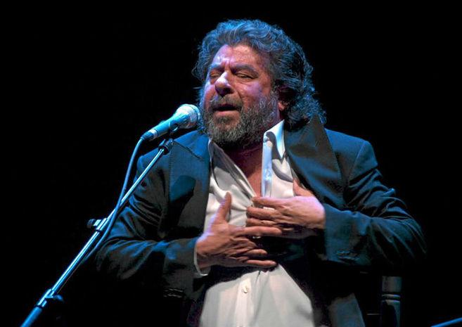 Juan Moneo, 'el Torta', durante una actuación.