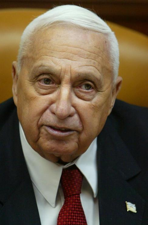 Imagen de archivo de Ariel Sharon.