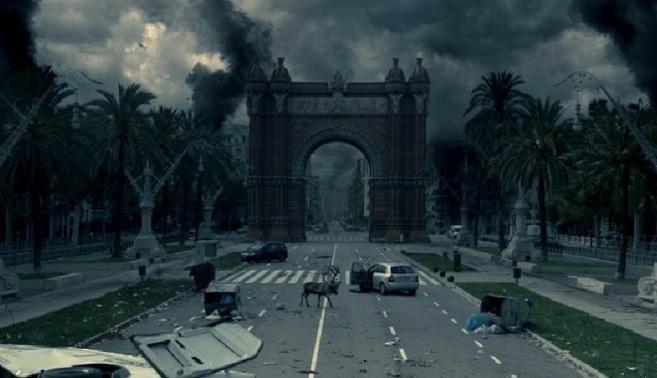 Fotograma de 'Los últimos días', película que imagina un...