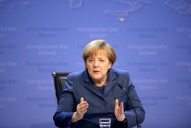 Angela Merkel, en una conferencia de prensa