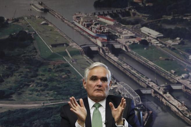 Jorge L. Quijano, administrador del Canal Panamá.
