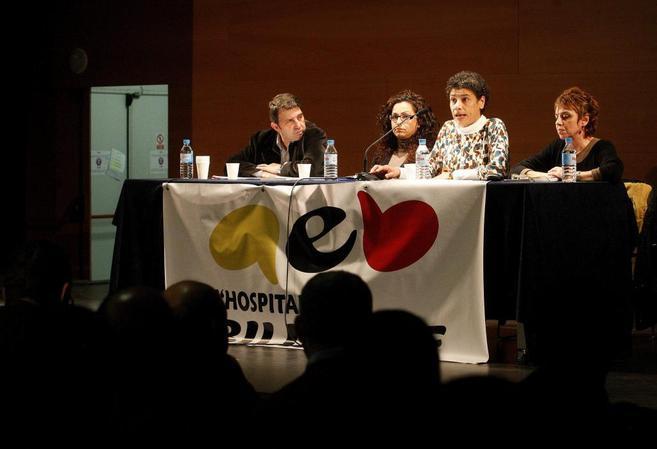 Presentación de Hospitalet Billingüe, el pasado diciembre en la...