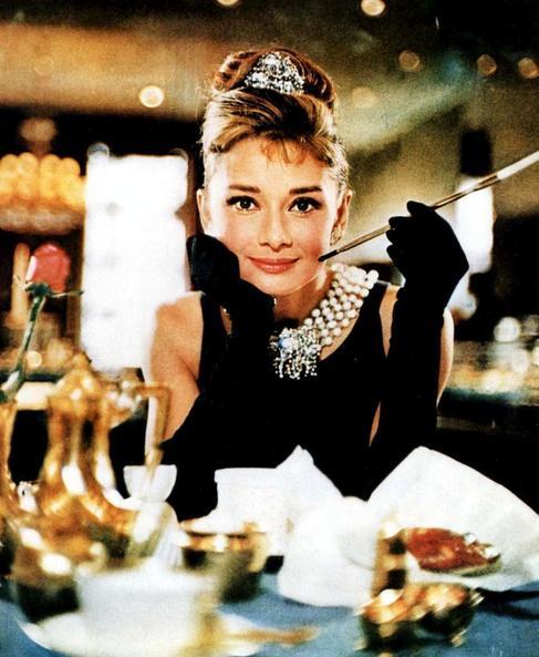 Audrey Hepburn en 'Desayuno con diamantes'.