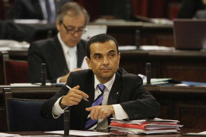 El conseller de Economía, Joaquín García.