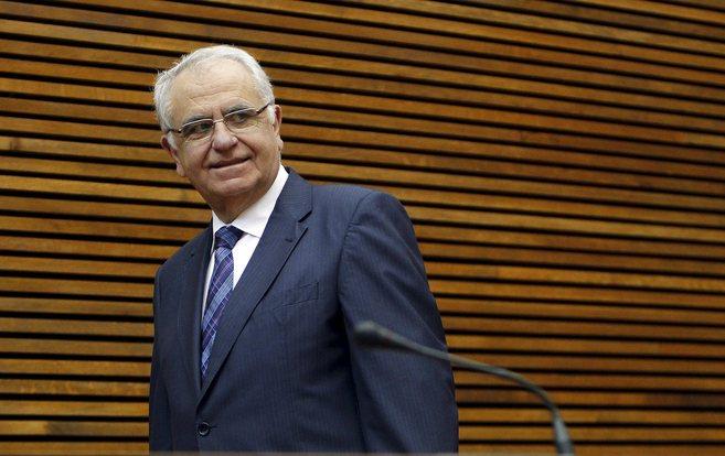 El presidente de las Cortes Valencianas, Juan Cotino, en una imagen de...