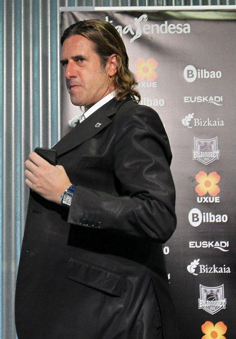 El consejero delegado del Bilbao Basket Gorka Arrinda.