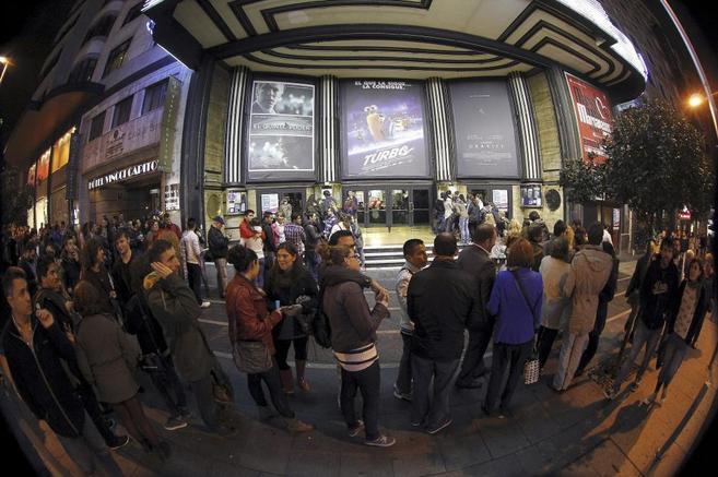 La última Fiesta del Cine, en Madrid.