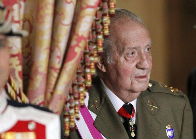 El Rey durante la celebración solemne de la Pascua Militar
