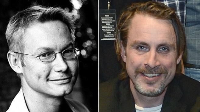 El periodista Magnus Falkehed y el fotógrafo Niclas Hammarström,...