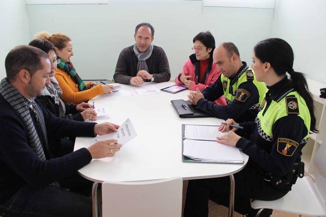 Reunión entre los diferentes agentes para la configuración del plan...