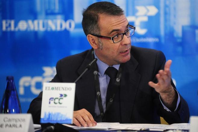 El alcalde de Parla, José María Fraile.