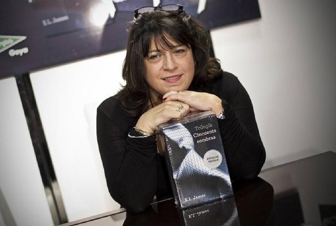 La escritora E.L.James, autora de la trilogia 'Cincuenta...