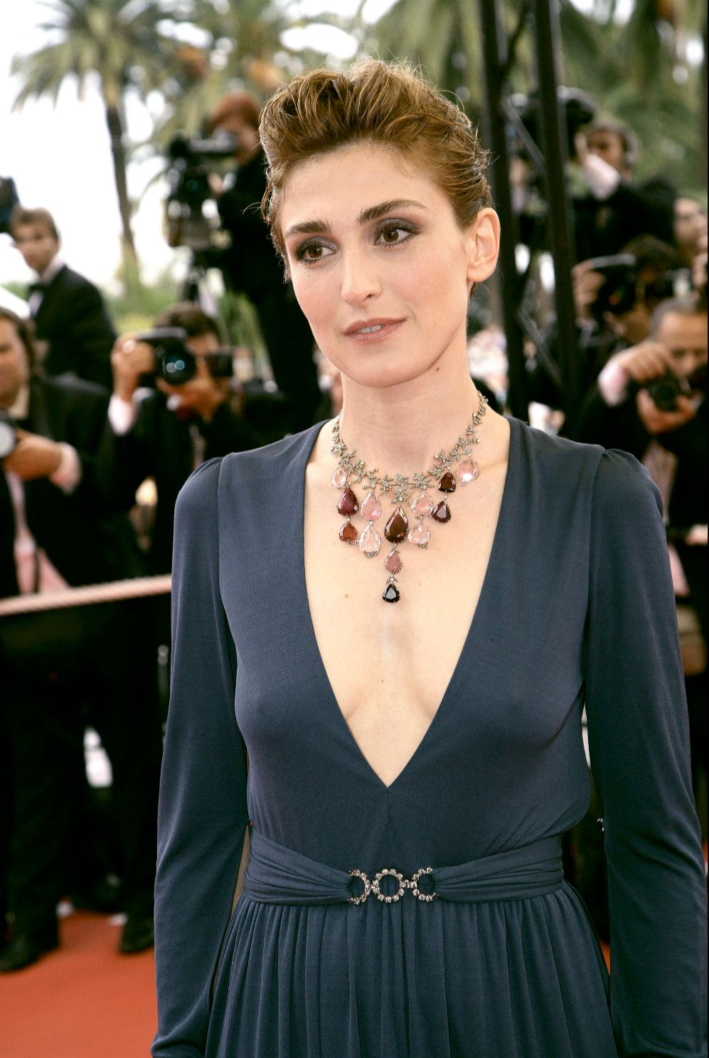Julie Gayet, de 41 años, es una actriz y productora francesa conocida...