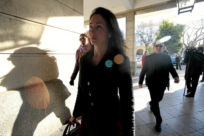 La juez que instruye el 'caso ERE' Mercedes Alaya llega a...