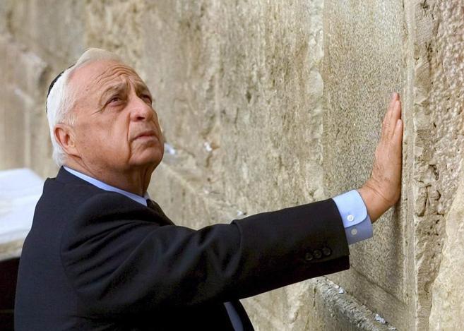 Foto de archivo del ex presidente israelí, Ariel Sharon.