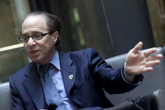Ray Kurzweil en el hotel Urban.