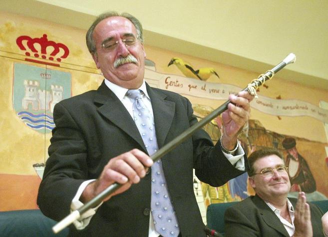 José Masa durante el acto de toma de posesión de la Alcaldía de...