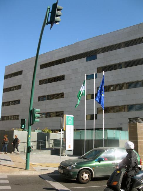 La Ciudad de la Justicia de Almería, donde está el juzgado que...