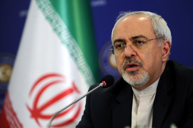 El ministro de Exteriores de Irán, Mohamed Javad Zarif, uno de los...