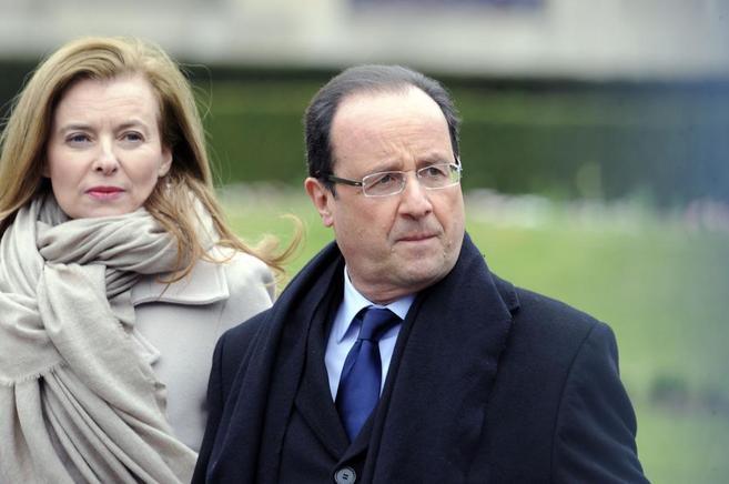 Trierweiler y Hollande, el pasado abril.