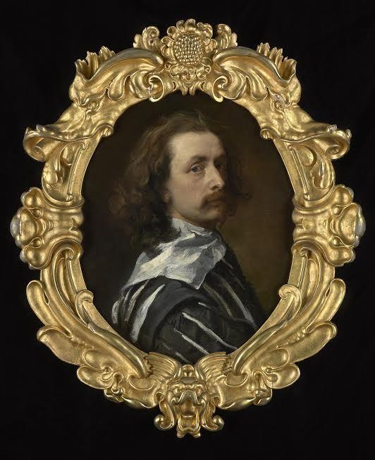 Imagen del auto retrato de Van Dyck