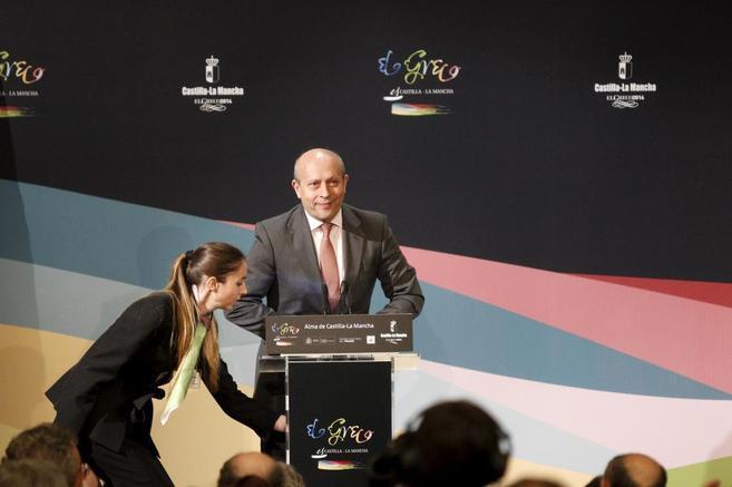 El ministro de Educación, José Ignacio Wert, durante el acto