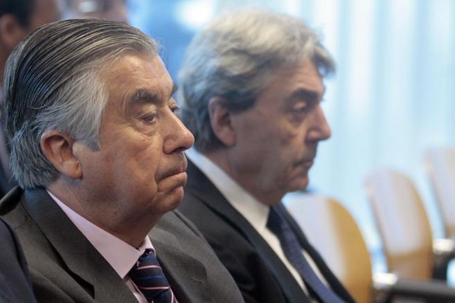 Alberto Cortina y Alberto Alcocer, en Audiencia Provincial de Madrid,