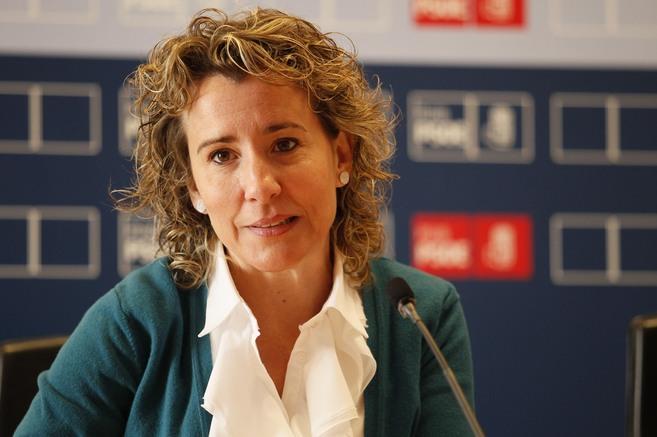 La socialista edil Aina Calvo.